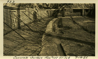 Lower Baker River dam construction 1925-07-10 Concrete Surface Run #157 El.364