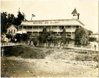 Exterior of Hotel de Haro in Roche Harbor, San Juan Island