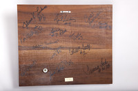 Volleyball (Women's) Plaque: NAIA Bi-District 1-2 Women's Champions (back), 1990