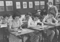 1943 Art and Design Class