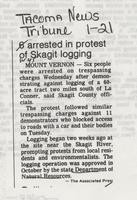 6 arrested in protest of Skagit logging