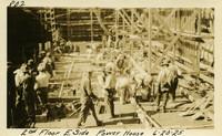 Lower Baker River dam construction 1925-06-20 2nd Floor E. Side Power House