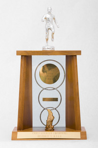 Cross-Country Running (Men's) Trophy: NAIA District 1 Champions, 1963