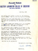 AS Board Minutes 1951-07