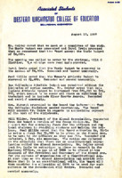 AS Board Minutes 1952-08