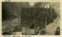Lower Baker River dam construction 1925-08-18 Power House