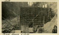 Lower Baker River dam construction 1925-08-18 Power House