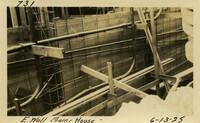 Lower Baker River dam construction 1925-06-13 E. Wall Power House