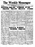 Weekly Messenger - 1919 April 26