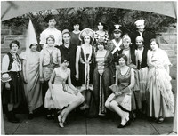 Group of (Fairhaven) students in costume