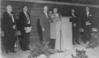 1961 Carver Gymnasium: Dedication