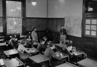1942 Eighth Grade Students With Miss Van Pelt (Class 8-C)