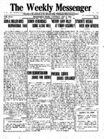 Weekly Messenger - 1919 May 3