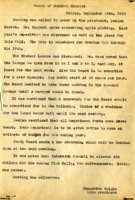 AS Board Minutes 1943-09