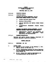 WWU Board minutes 1996 April