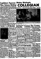 Western Washington Collegian - 1955 April 1