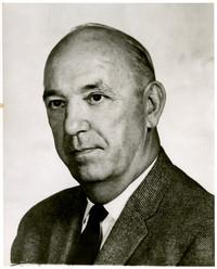 Portrait of unidentified man