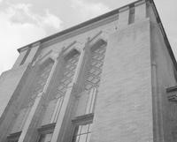 1943 Campus School Building Architectural Detail (Above Main Entrance)