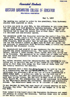 AS Board Minutes 1952-05
