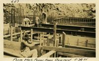 Lower Baker River dam construction 1925-05-24 Form Work Power House Basement
