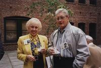 1995 Alumni Reunion: Patricia Nordberg and Wally Keehr