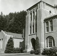 1960 Campus School Building Main Entrance