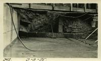 Lower Baker River dam construction 1925-03-09 Box drains against abutment