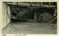 Lower Baker River dam construction 1925-03-09 Box drains against abutment