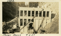 Lower Baker River dam construction 1925-09-06 Power House