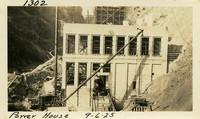 Lower Baker River dam construction 1925-09-06 Power House