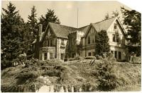 Large, Tudor-style home on corner lot at 815 17th Street, Bellingham, WA
