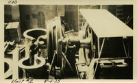Lower Baker River dam construction 1925-08-04 Unit #2
