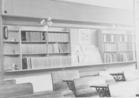 1944 Bookcase in Junior High Classroom