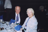 2007 Reunion--Alton Gregor and Anne Gregor at the Banquet