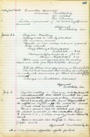 AS Board Minutes - 1922 July