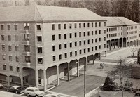 1972 Library: View from the West