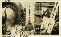 Lower Baker River dam construction 1925-09-07 Insulators