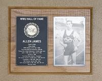Hall of Fame Plaque: Allen James, Track and Field (Race Walker), Class of 1996