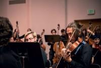 Western Symphony Orchestra rehearsal