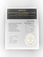 Golf (Men's) Certificate: Capital One Academic All-American Team, Xavier Dailly, 2010/2011