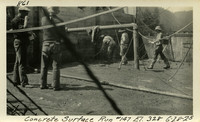 Lower Baker River dam construction 1925-06-28 Concrete Surface Run #147 El.328