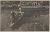 Paul Hansen on boat