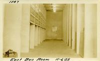Lower Baker River dam construction 1925-11-06 East Bus Room