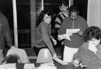 1994 Marian Rodriquez with Fairhaven Law and Diversity Students