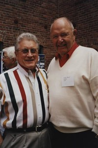 "1995 Alumni Reunion: Wally Keehr and ""Moose"" Zurline"
