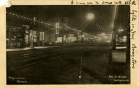 Holly St at Night