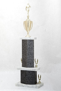 Soccer (Men's) Trophy: WSU Tournament Champion (back), 1974