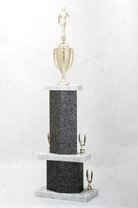 Soccer (Men's) Trophy: WSU Tournament Champion (back), 1974