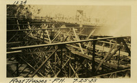 Lower Baker River dam construction 1925-07-25 Roof Trusses-P.H.