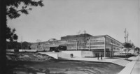1959 Haggard Hall: Architect's Drawing